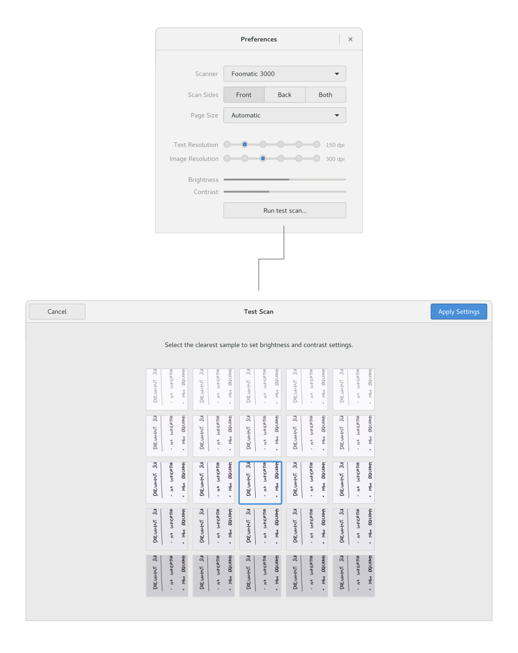 New Simple Scan designs – Form and Function