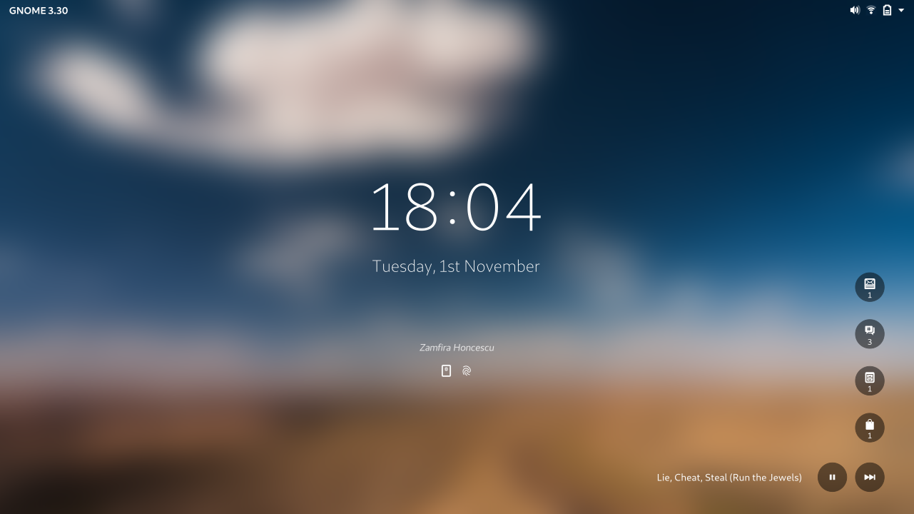 Redesigning the lock screen – Form and Function