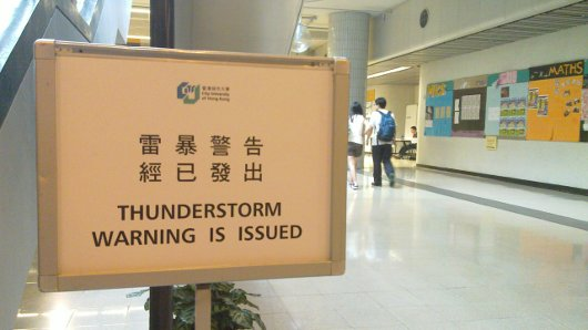 Thunderstorms for free!