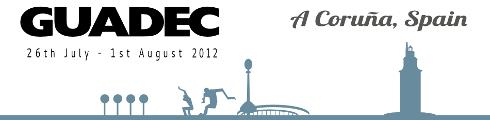 GUADEC 2012 logo