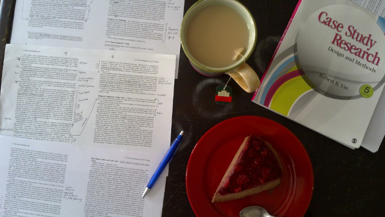 Tea, Cake, Research. Hardcore invisible.