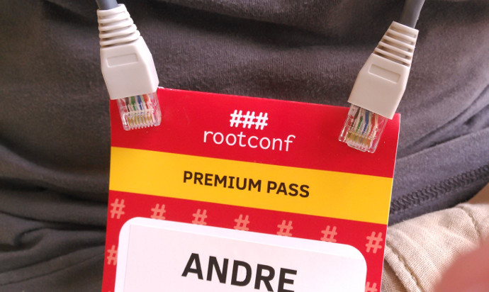 Hardware recycling via badge lanyards