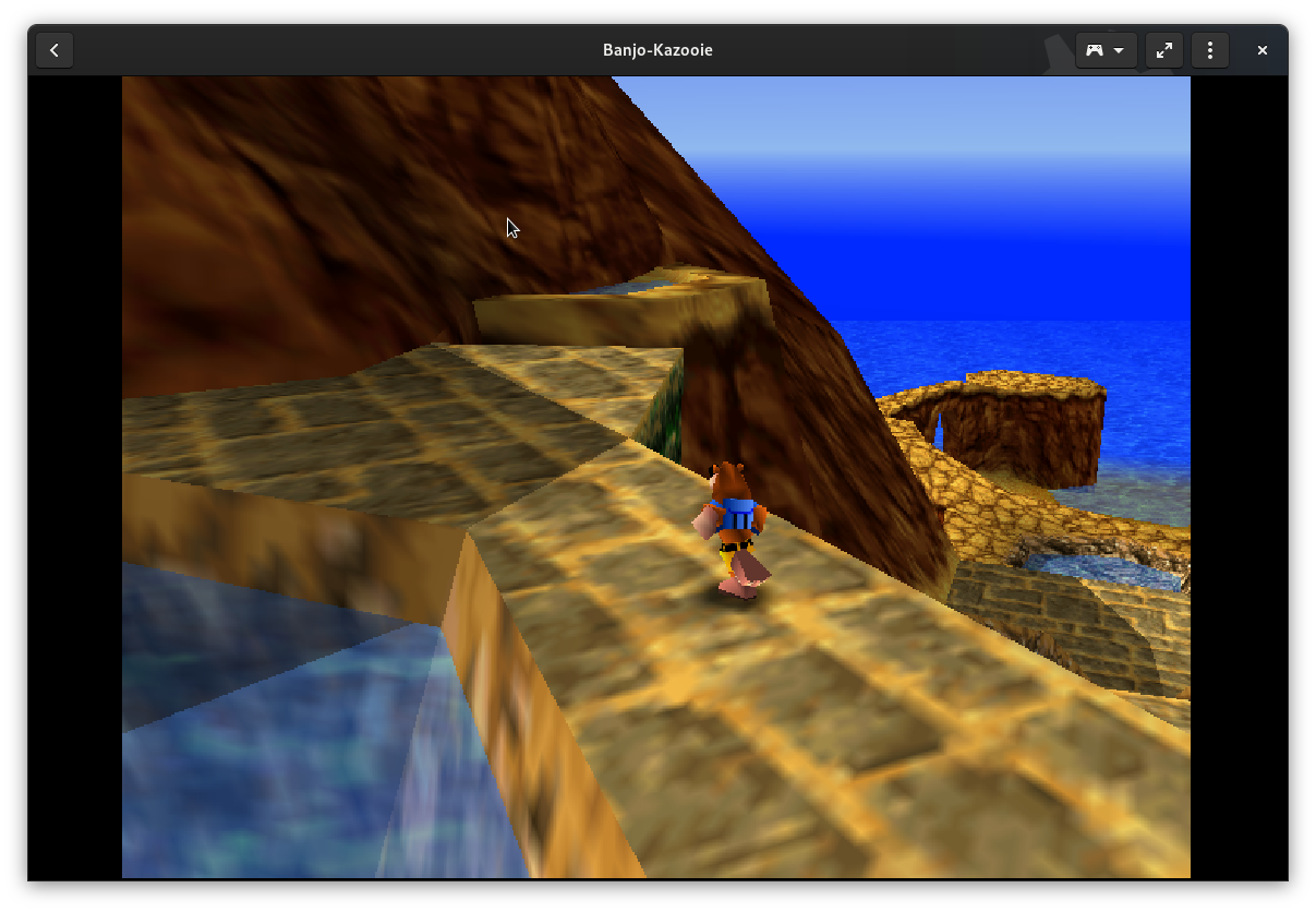 Banjo-Kazooie for Nintendo 64 in GNOME Games