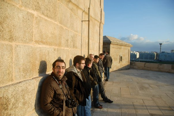 WebKitGTK Hackfest people at Torre de Hércules