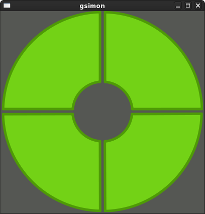 GSimon screenshot
