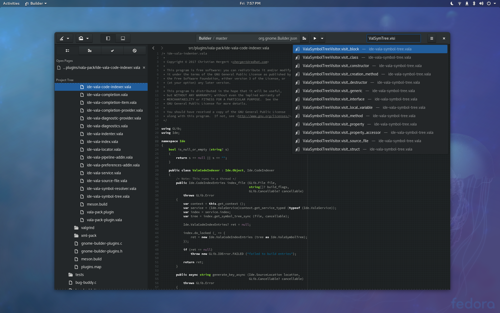 Code indexing in Builder – Zen and the Art of GNOME