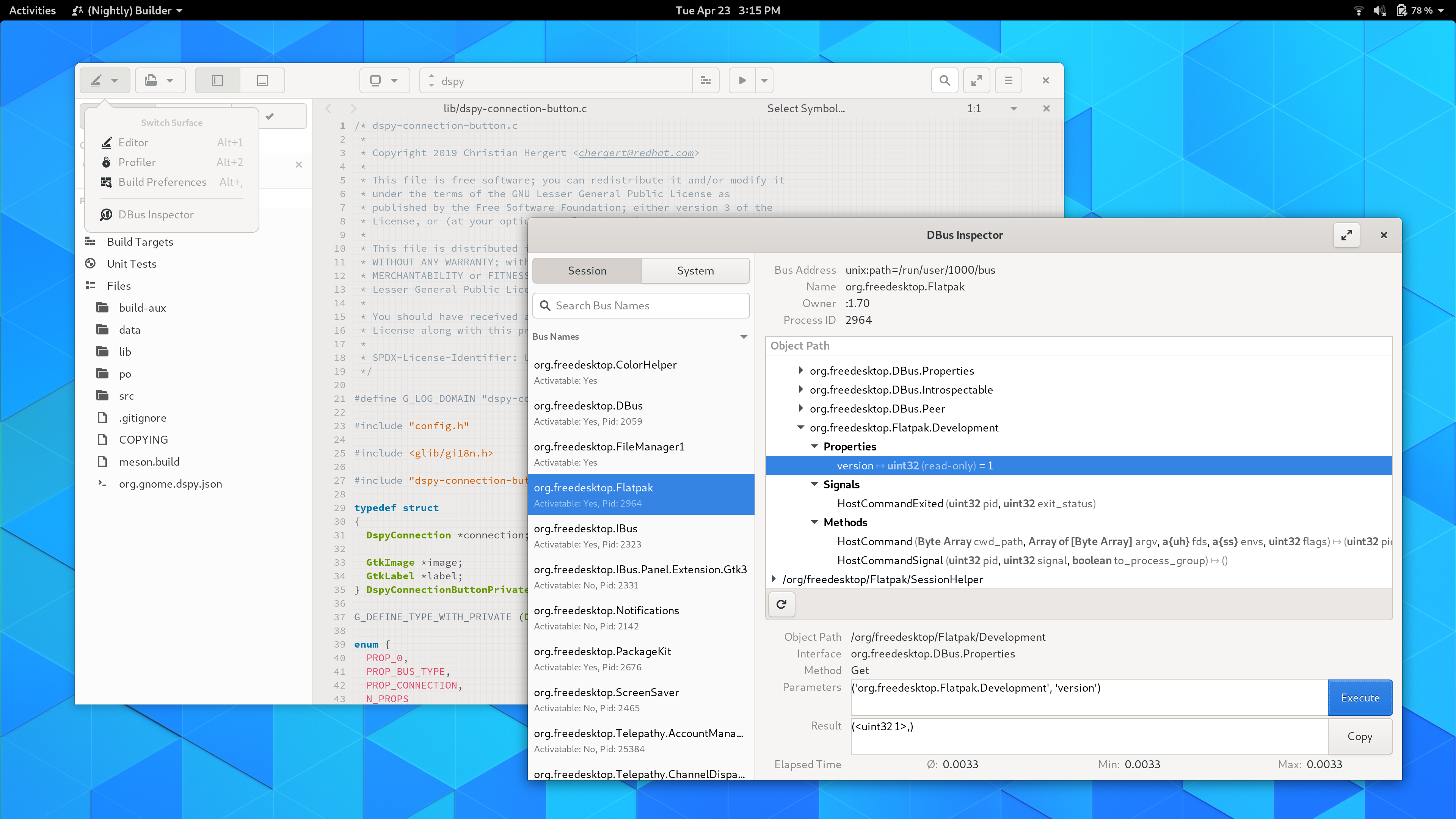 Builder 3 33 1 – Zen and the Art of GNOME