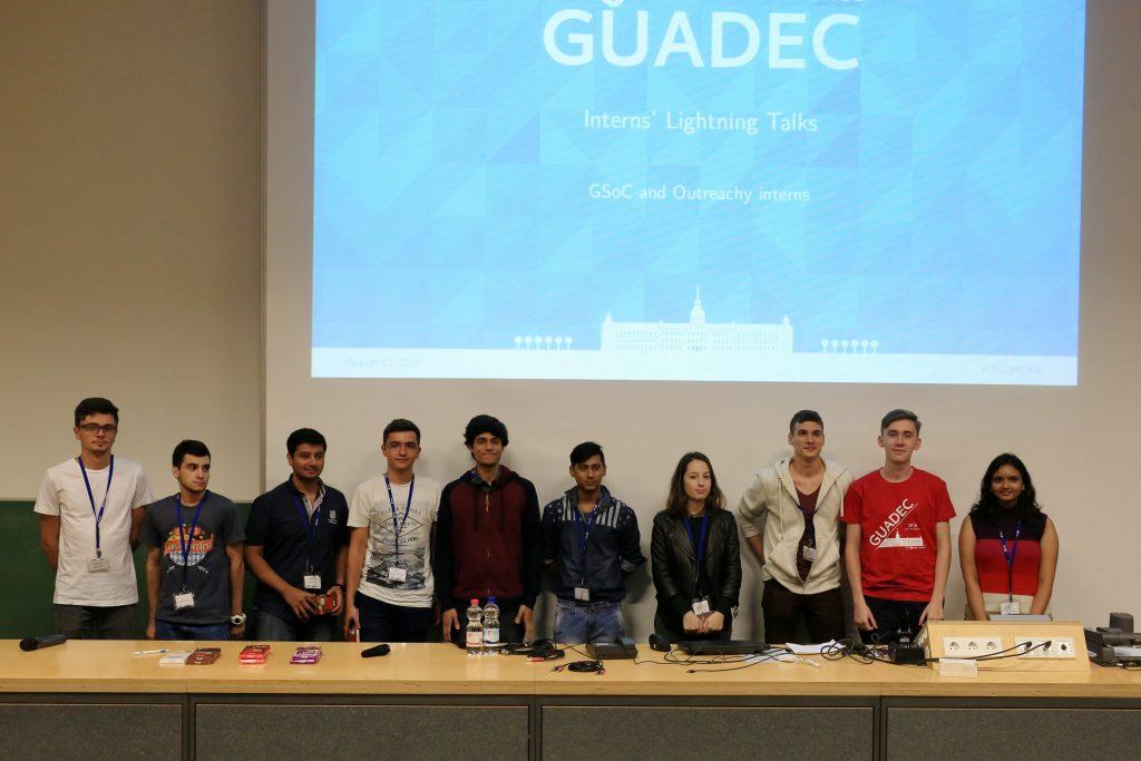 Interns GUADEC 2016