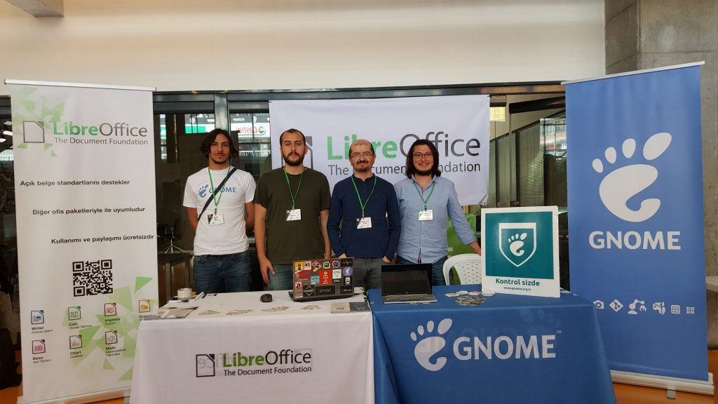 Free Software and Linux Days 2018 (OYLG18) GNOME Booth