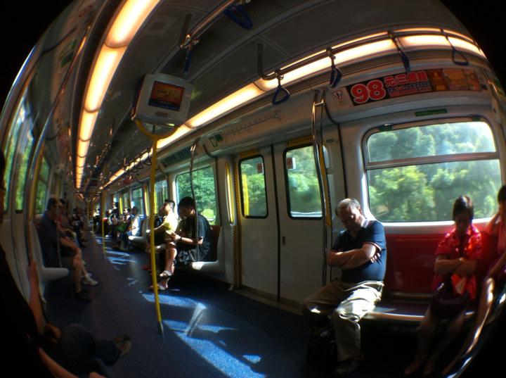 East Rail Line of HK