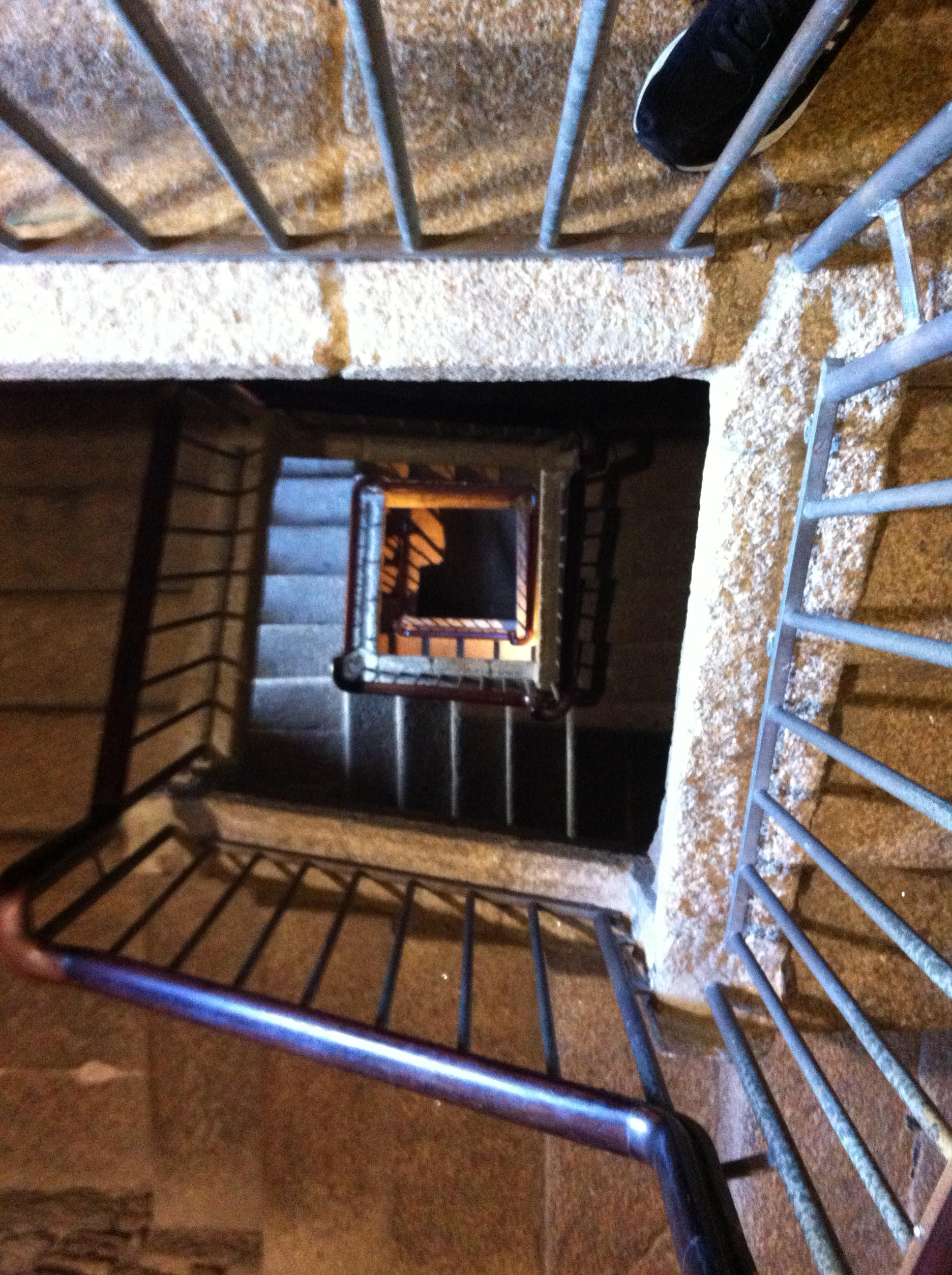 Tower of Hercules stairs