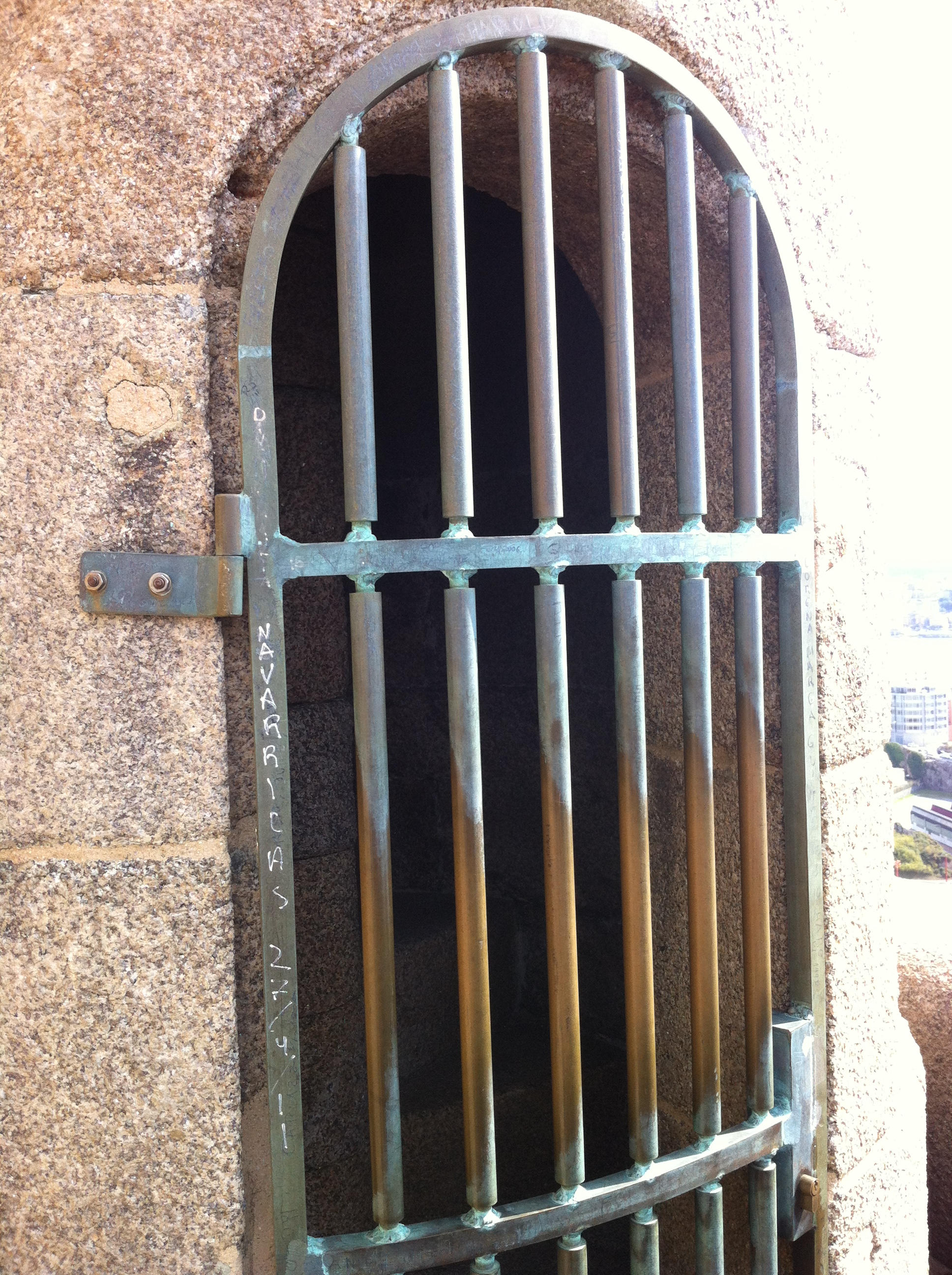 Tower of Hercules mystery door