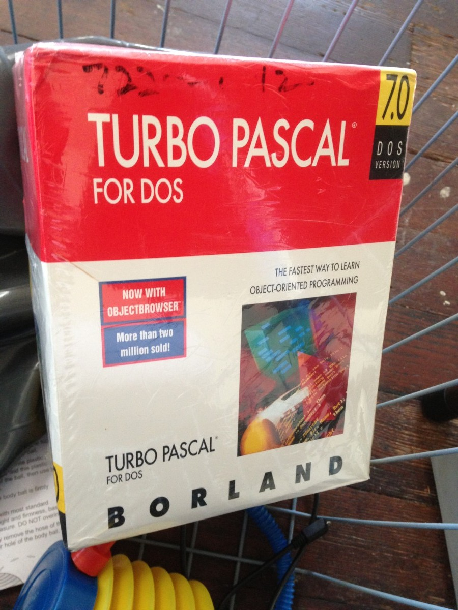 Turbo Pascall 7.0 for DOS