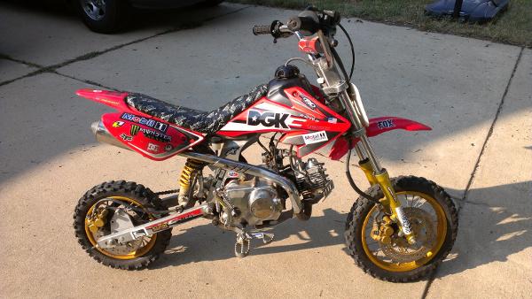 New Project A Dirt Bike For Ashlyn Ken Vandine