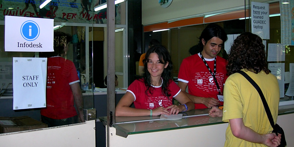 GUADEC Infodesk