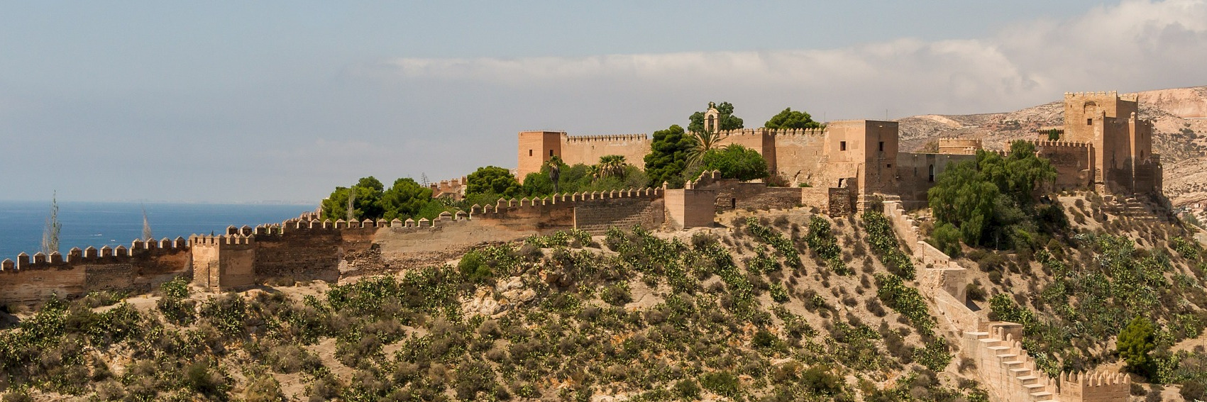 Alcazaba of Almeria, CC0, by skeeze