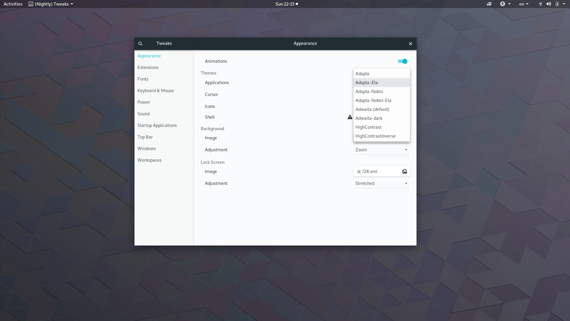Fedora Atomic Workstation: Theming Possible   Goings on