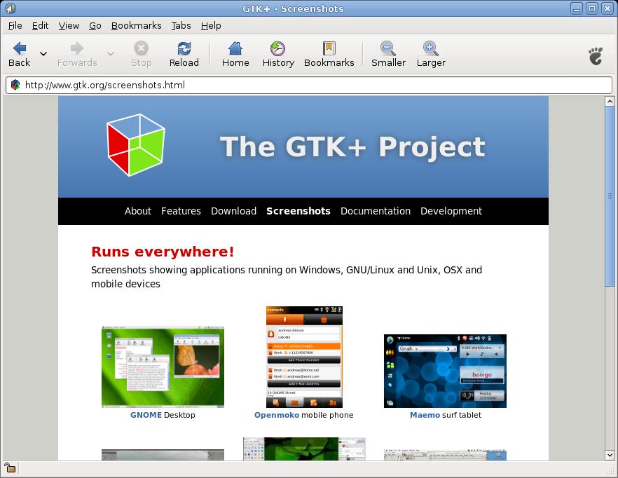 gtk.org revamp