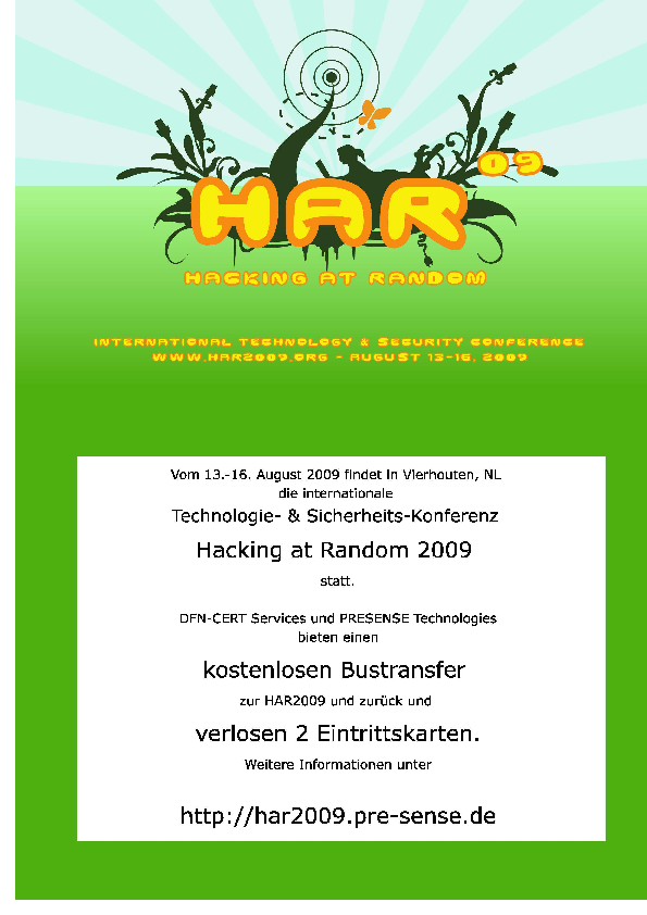 HAR Plakat