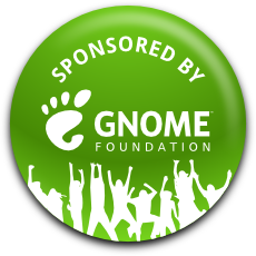Sponsored by GNOME!