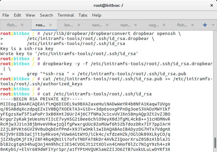 "Installing a ""full"" disk encrypted Ubuntu 16 04 Hetzner"