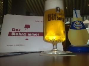 Das Bier danach