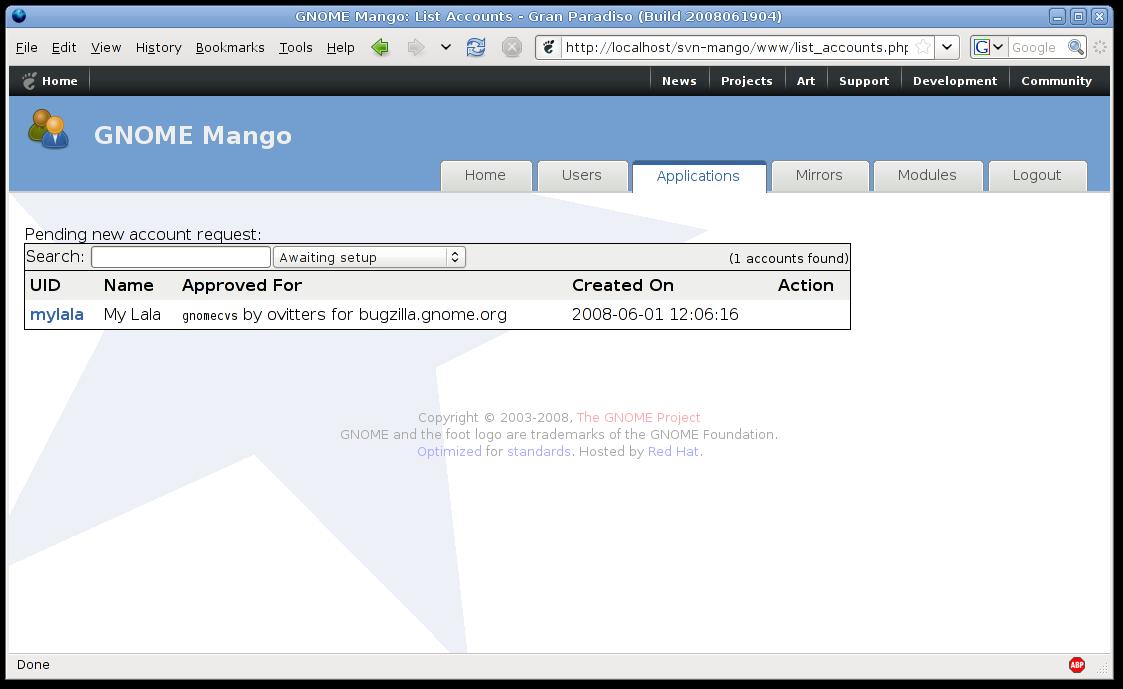 Mango PHP trunk