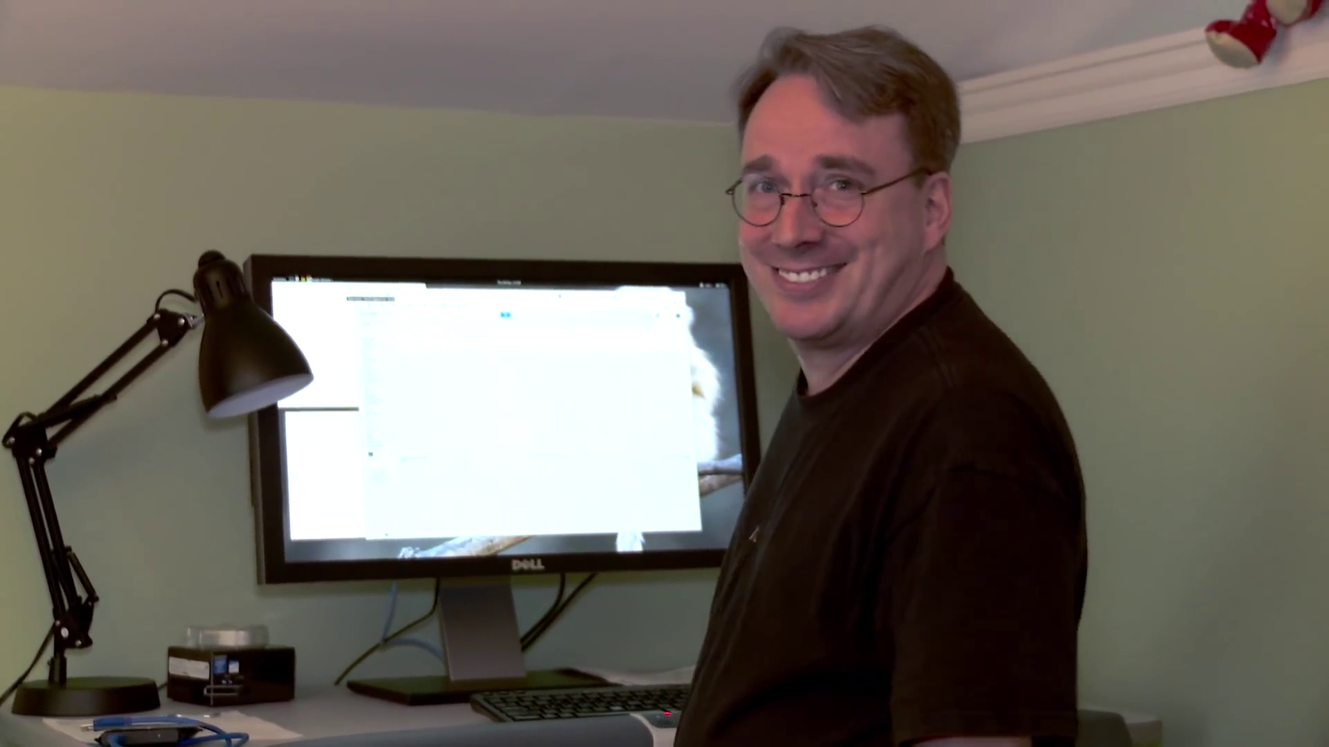 Linus Torvalds GNOME3