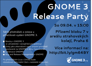 GNOME 3 Poster