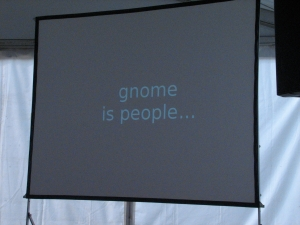 GNOME Is People