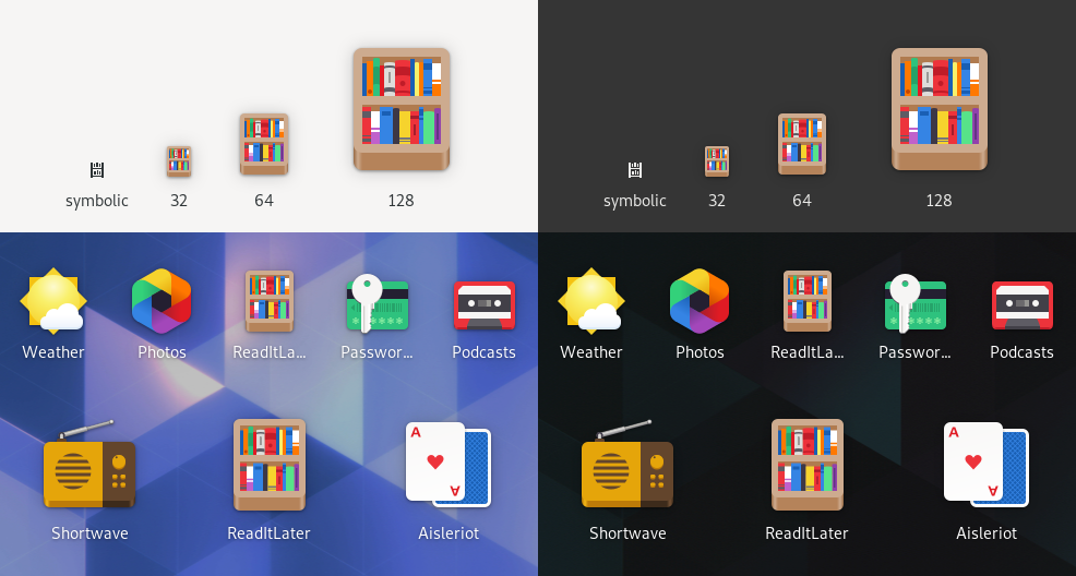 Color and Symbolic in App Icon Preview