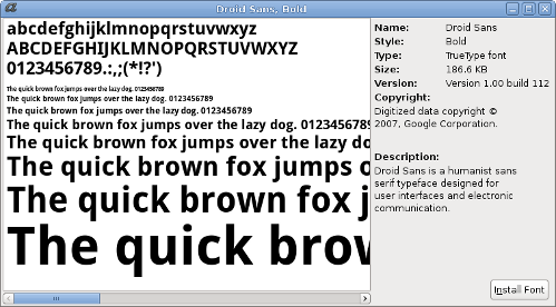 Font Viewer Revamp