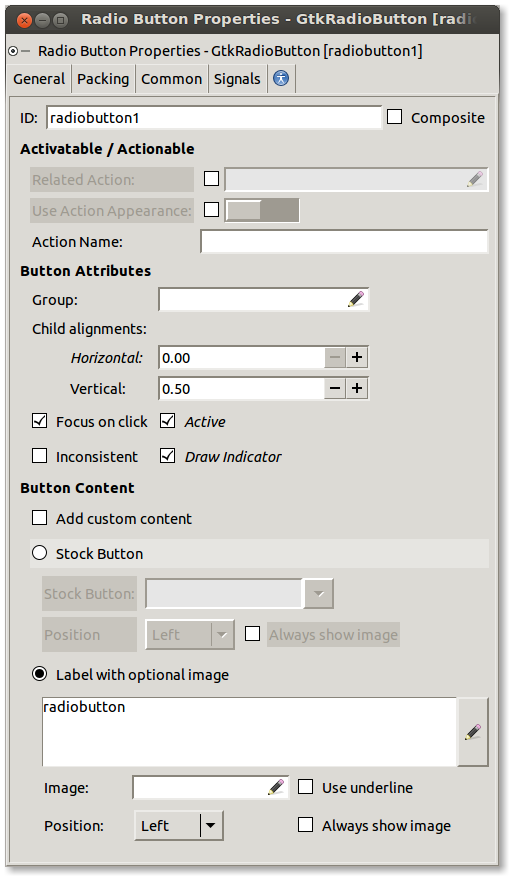 GtkButton Editor After