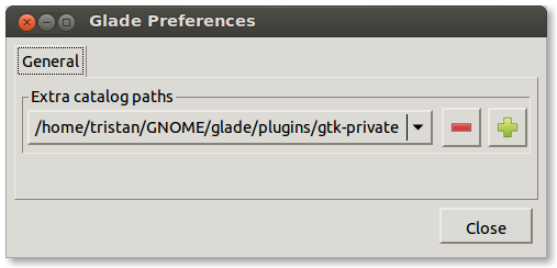 Preferences Dialog Before