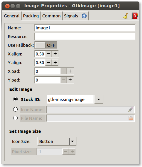 GtkImage Editor Before