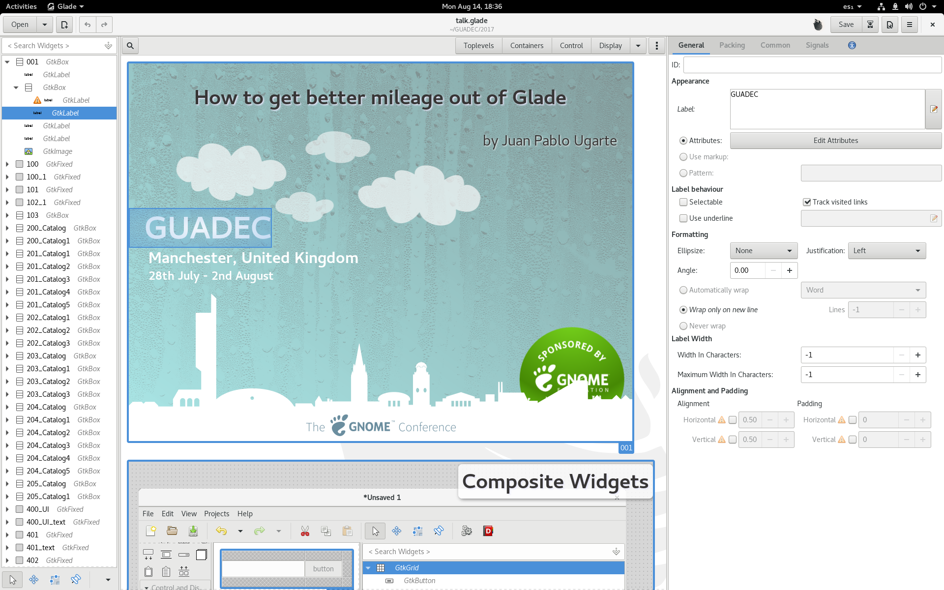 It's always fun to be at GUADEC | Juan Pablo's Blog